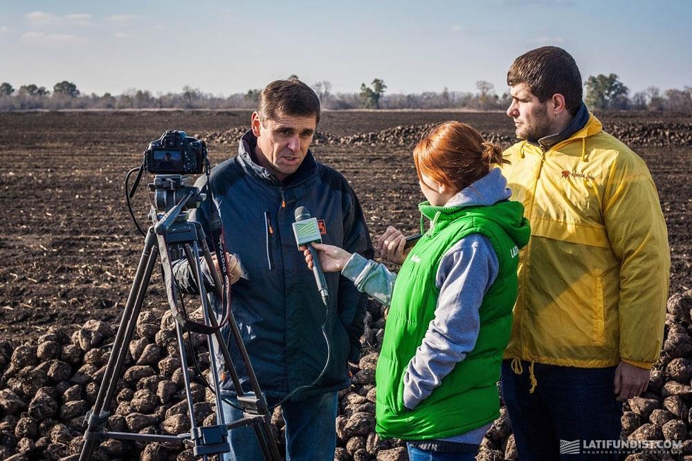 Николай Пивовар, директор предприятия «Андреевка»